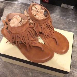 Restricted Fringe Sandals